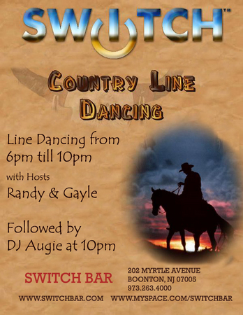 July 25th Country Line Dancing