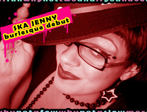 Ska Jenny performing at the Sept 25th Madonna CD Release Party